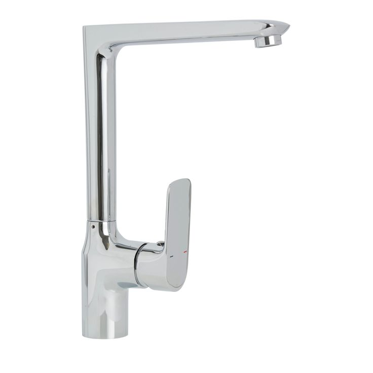 Cooke & Lewis Gurara Chrome Finish Kitchen Monobloc Tap | Departments | DIY at B&Q