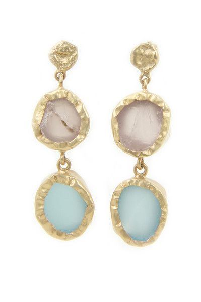Zariin The Spirited Two Earrings: Available at http://eveadorned.com/collections/zariin