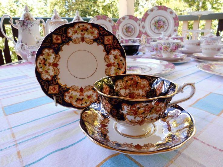 Royal Albert, Vintage,Heirloom, Footed Cup/Saucer/Plate,