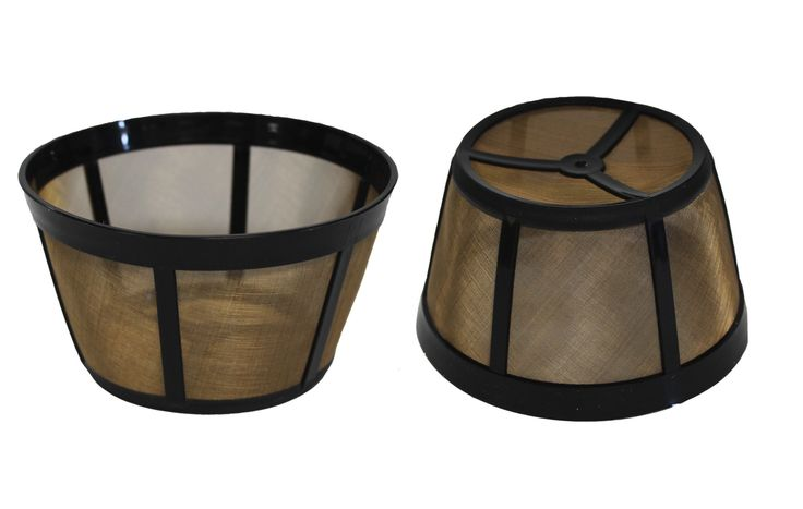 2 Reusable Coffee Filters Designed for Bunn Coffee Makers