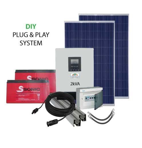 2kVA 24V DIY PV Power Pack