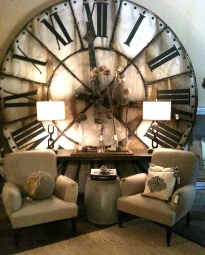 Déco murale horloge atomique horloge murale horloge comtoise