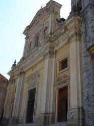 Côte d'azur - Alpes de Haute Provence :La cathédrale St Michel de Sospel
