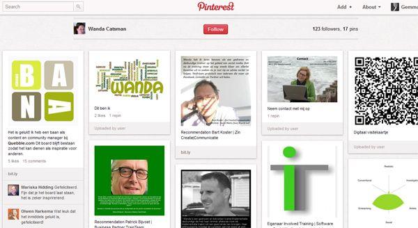 Solliciteren via Pinterest | Zet jezelf ONLINE