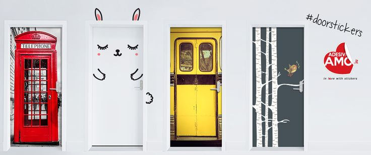 New Door Stickers! Make your choice between many different designs...