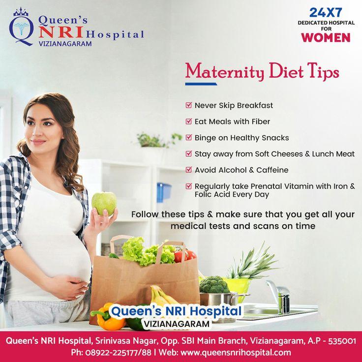 Maternity diet tips queens nri hospital vizianagaram