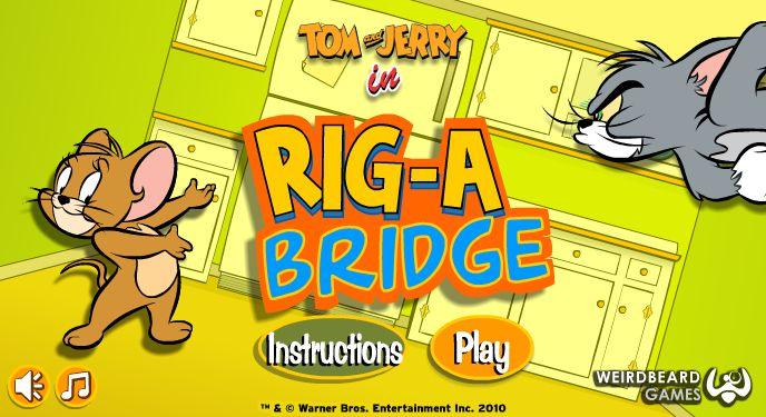 Tom und Jerry bauen Brücke - http://spiele7.com/tom-und-jerry-bauen-brucke/