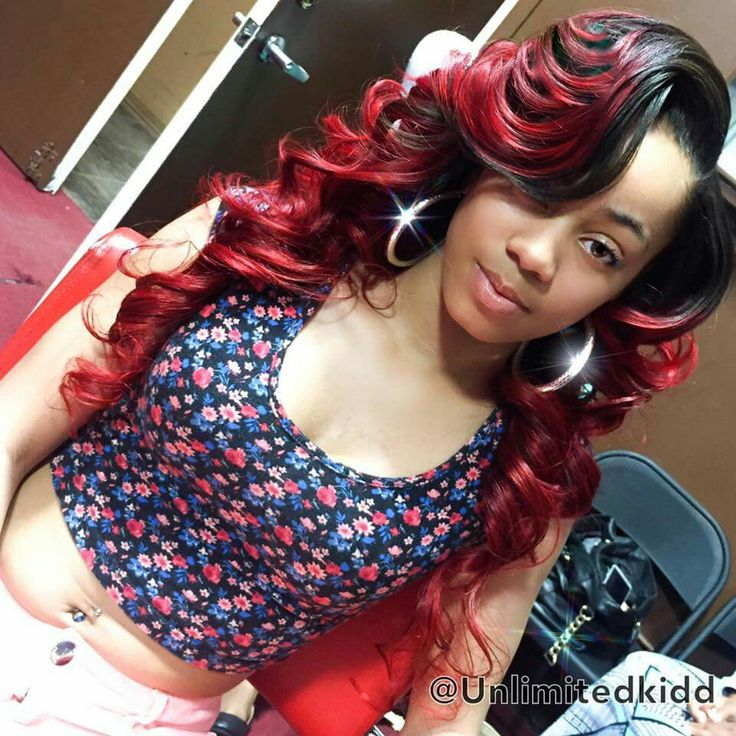 12 best quick weave long hair images on pinterest longer hair this is so darn pretty weave extensionsred hairlong pmusecretfo Gallery