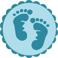 printable foot baby