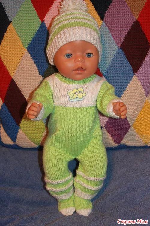 Обещала внучкам моей самой близкой подруги навязать разной одежки для их куколок.