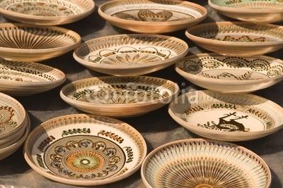 Romanian ceramics -- very neat.  Want to go back soon!