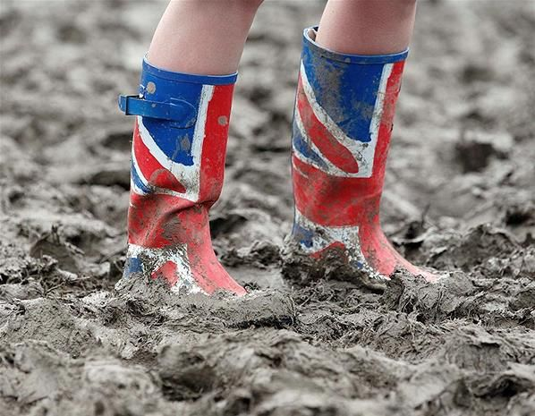Love the British mud!