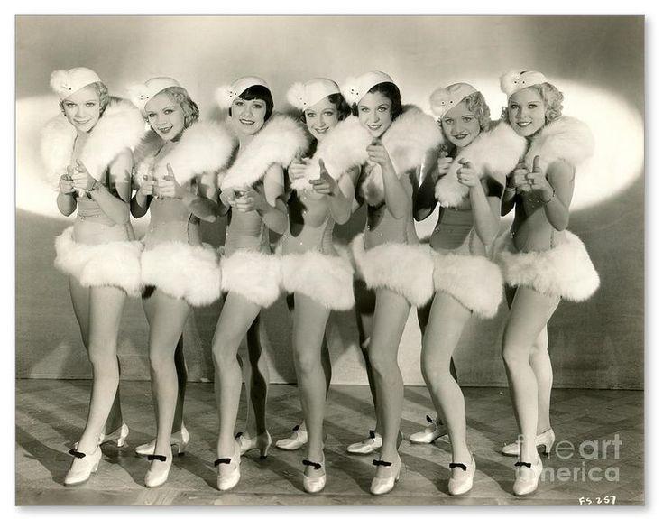 Chorus girls from 42nd Street (1933).