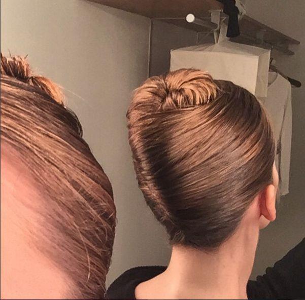 french twist - hairstyle alternative