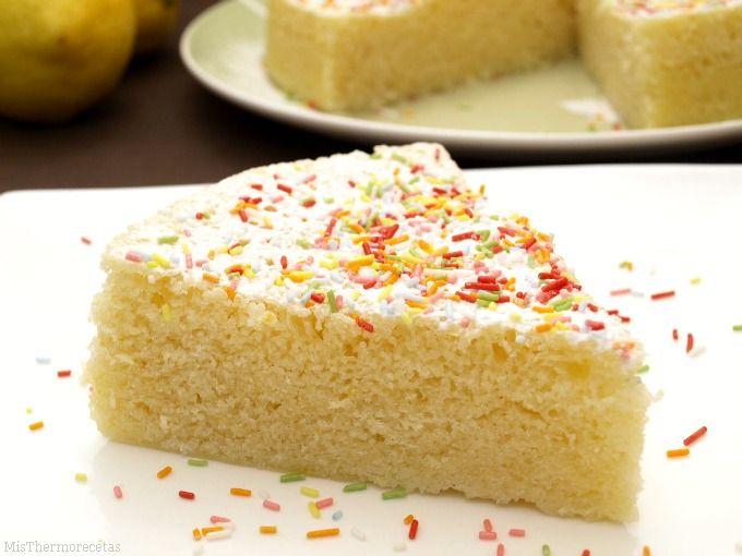 Bizcocho de limón, en el microondas | Recetas Thermomix | MisThermorecetas