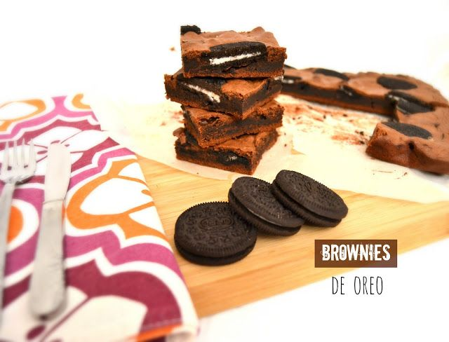 Sweet Gula: Brownies de Oreo