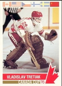 Vladislav Tretiak Canada Cup 1976