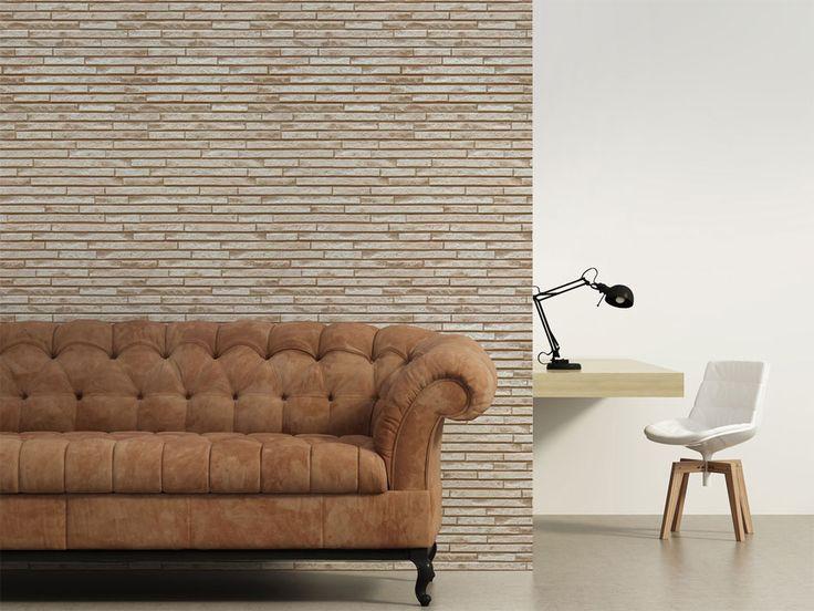Fototapeta z motywem cegły #art #decor #dekoracja #art #wall #wallpaper #tapeta