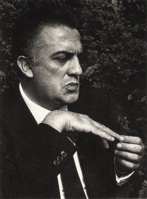 """anneyhall: """"Life is a combination of magic and pasta."""" Federico Fellini"""