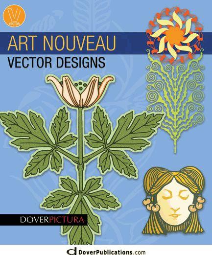 Art Nouveau Vector Designs