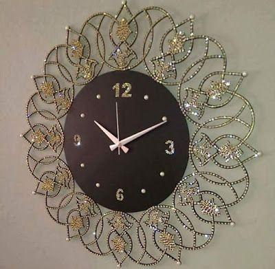 European Luxury Wall Clock Design Ideas Large-Night-Lights-clocks-Art-Wall-Watch-Background-Mute-Luminova-Wall-clock-Happy-Tree-Glowwatch-unique