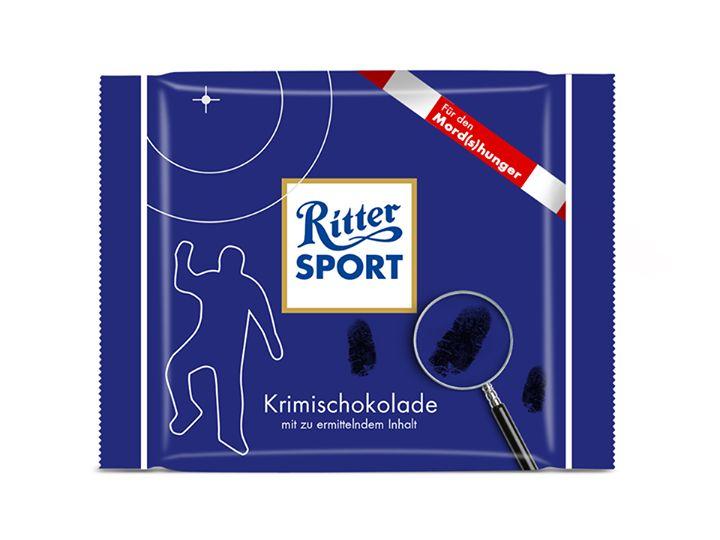 RITTER SPORT Fake Schokolade Krimischokolade