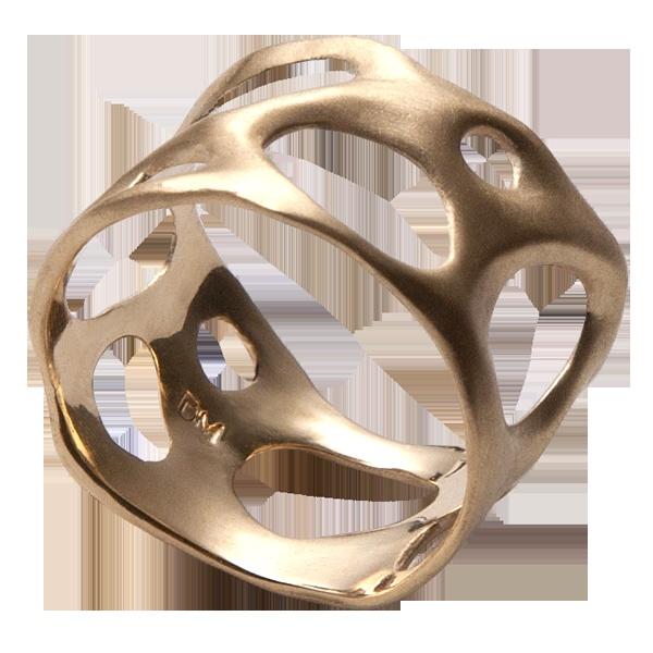 Bio A, 14K Gold Ring , wedding ring , wedding band: Wedding Bands, Wedding Rings