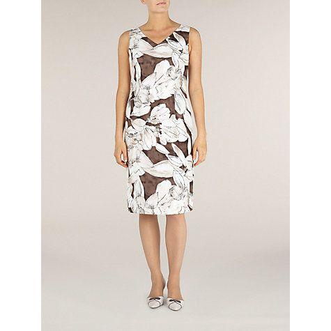 Buy Jacques Vert Floral Print Shift Dress, Multi Online at johnlewis.com