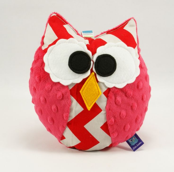 #chevron #littlesophie #owl #baby #kids #forkids #plush #minky #handmade #toy
