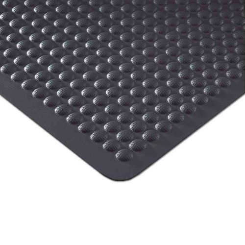 Airflex All Rubber Floor Mat: 3' x 5' - Black by Andersen. $74.50. Works in both wet and dry environments. Launderable and highly chemical resistant. Certified slip resistant by the National Floor Safety Institute. Fashionable colors add the finishing touches. Functional dome design. This high-performance anti-fatigue bar service mat provides relief from back and leg stress with a comfortable and functional dome design. The washable and highly chemical-resistant nitrile rub...