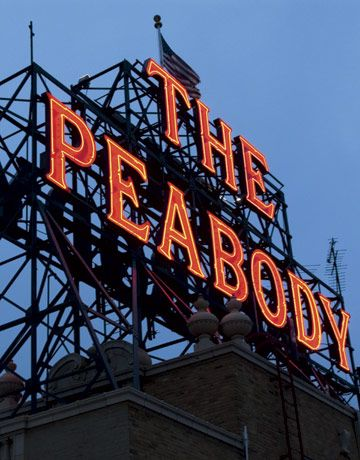 Peabody Hotel At Memphis's Peabody hotel, we checked in just as the famous mallards that swim in the lobby fountain made their daily red-ca...