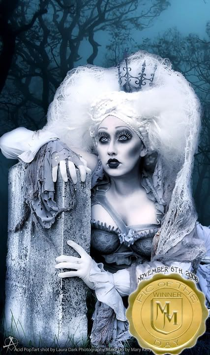 Dead bride?  A little goth and I like it!!