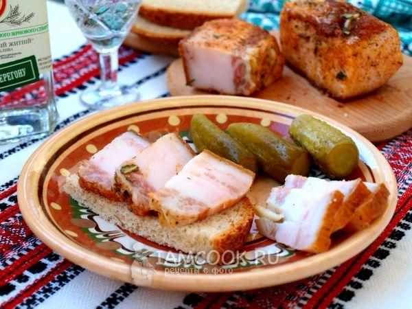 Рецепт сала по-украински