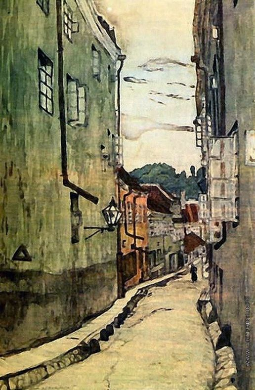 Добужинский М. В. Улица стекольщиков в Вильно, 1906