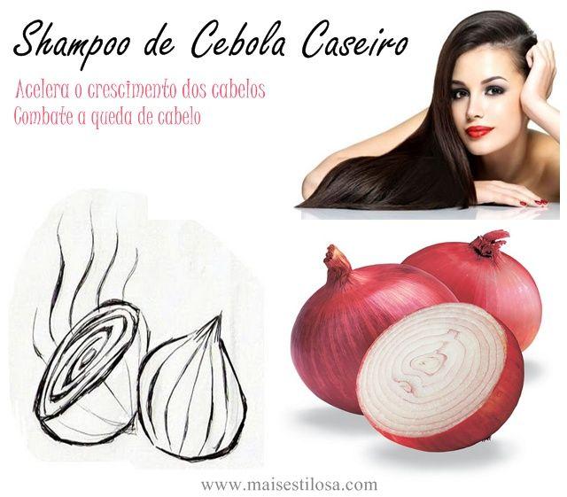 Aprenda como fazer o shampoo de cebola caseiro para combater a queda de cabelo, fortalecer os fios e ainda acelerar e estimular o crescimento dos cabelos.