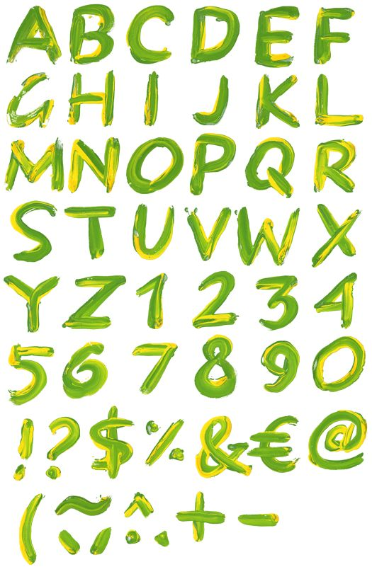 how to add fonts to paint.ney