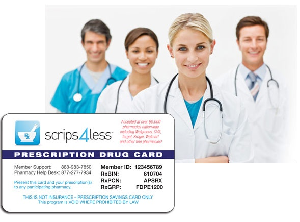 I give away free prescription cards to people across America so they can save up to 85% at the pharmacy. Get your free card at http://www.scrips4less.com/fdpe1073