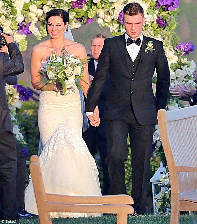 Nick Carter marries Lauren Kitt but Aaron Carter is absent ...