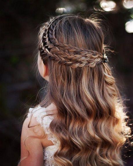 Festive hairstyles firmung