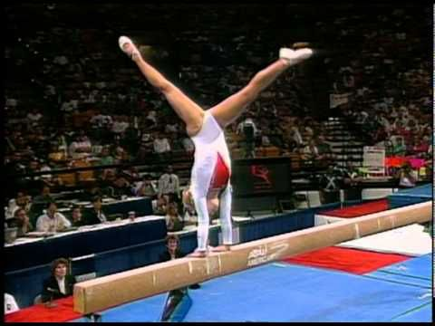 Jennie Thompson - Balance Beam - 1996 Olympic Trials - Women - Day 2
