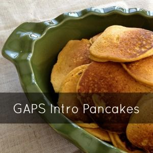 GAPS Intro Pancakes - Honest Body - GAPS Diet and Nutritional Therapy
