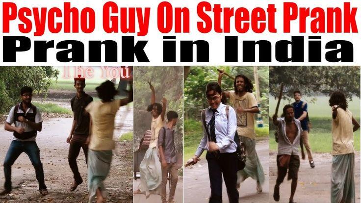 Psycho Guy On Street Prank | Psycho Guy Prank | Prank in India 2017 | Th...