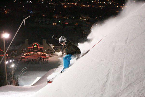 Mont Saint-Sauveur est ouvert pour la saison de ski et snow