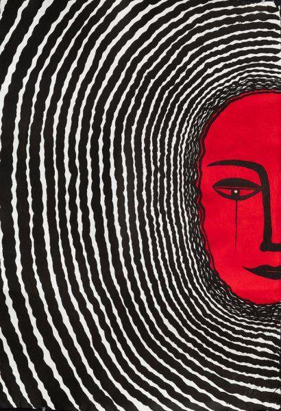 Selma Gurbuz - Soleil 2006 - http://mymagicalattic.blogspot.com/2013/01/exhibition-of-selma-gurbuz-at-rampa.html