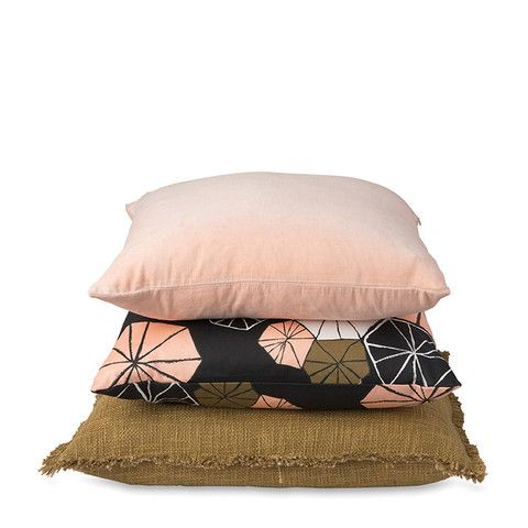Nasturtiums Cushion Cover