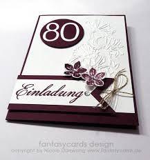 Einladung 80 Geburtstag Brunch Einladungskarten Geburtstag
