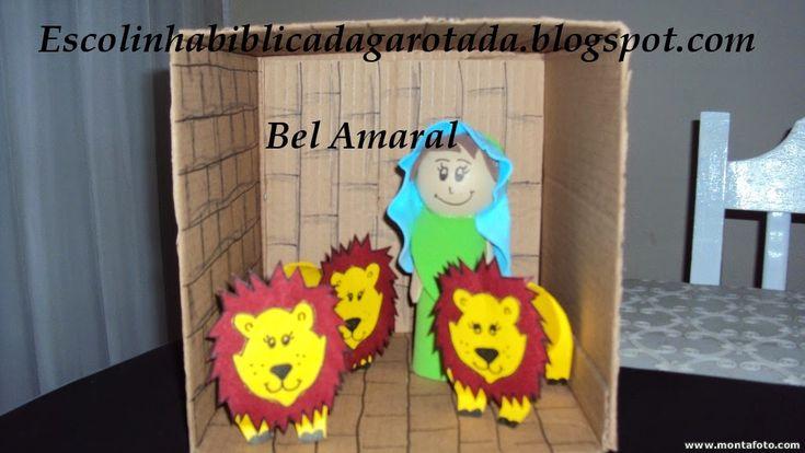 Escolinha Bíblica da Garotada: Daniel na cova dos leões