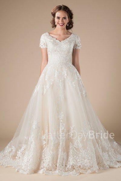 594 best Modest Bridal Gowns images on Pinterest