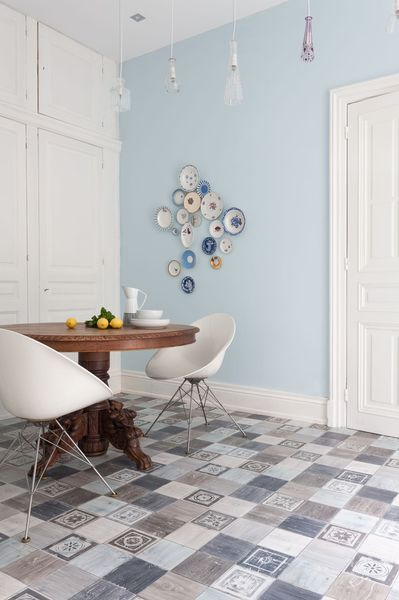 "Sol Gerflor "" Fado Azul "" de la collection Evasion Nature"