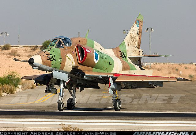 Israel- Air Force A-4 Skyhawk